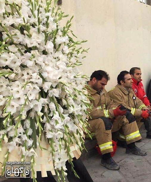 جدیدترین و تاثیرگذار ترین عکس ها و کاریکاتور ها از آتش سوزی پلاسکو