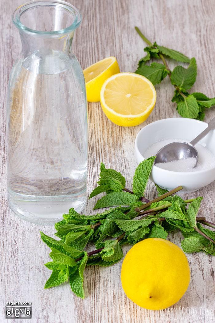 لیموناد نعنا نوشیدنی سالم و جلادهنده قلب