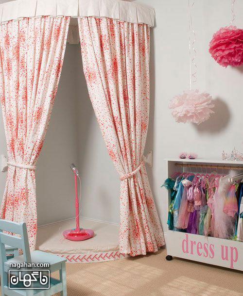 عکس اتاق کودک و مدل چیدمان طرح باربی- اتاق دخترانه
