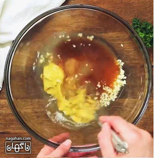مواد لازم برای تهیه مرغ گریل طعم دار