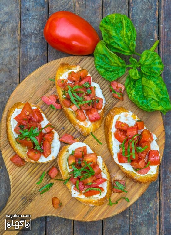 بروسکتا ، پیش غذایی ایتالیایی