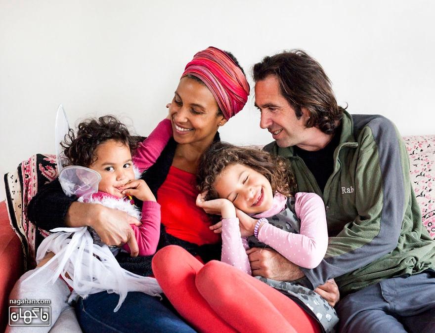 خانواده در سراسر جهان ؛ یک خانواده فرانسوی