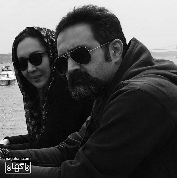 نیکی کریمی و وحید جلیلوند در جشنواره فیلم استانبول