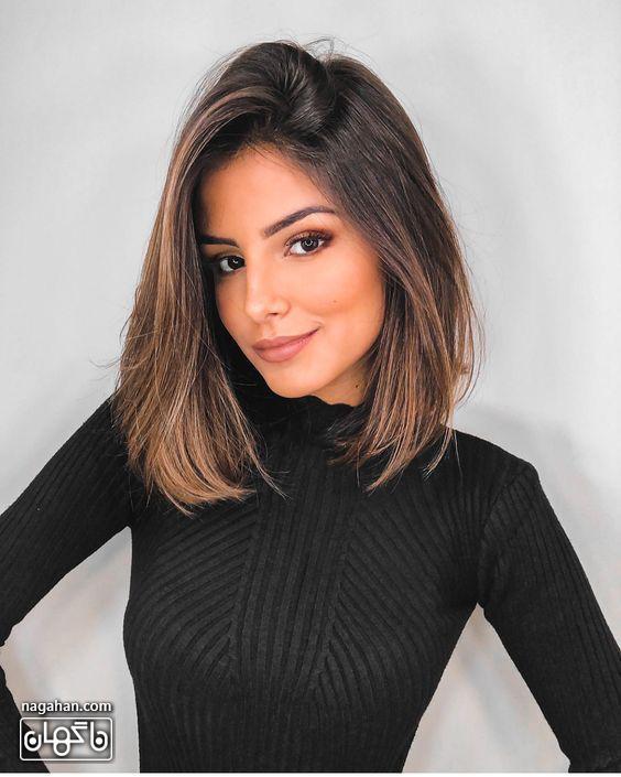 مدل مو کوتاه مش و هایلایت