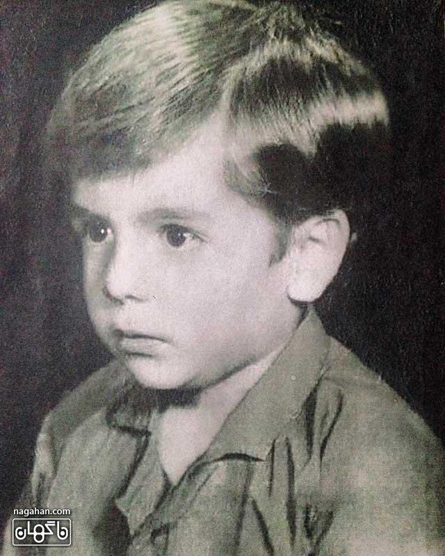 عکس کودکی عباس غزالی