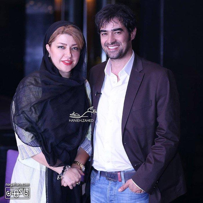 عکس شهاب حسینی به همراه همسر گرامی ایشان