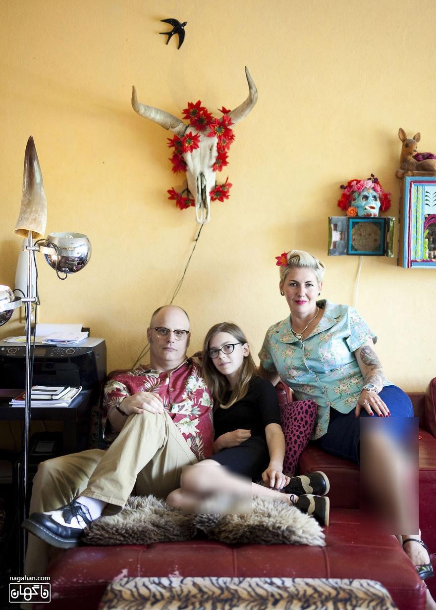 خانواده در سراسر جهان ؛ یک خانواده هلندی