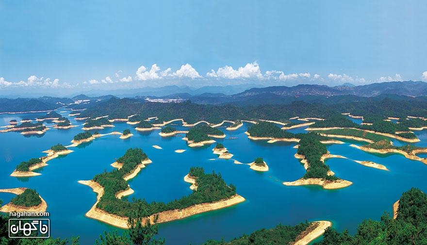 دریاچه هزارجزیره