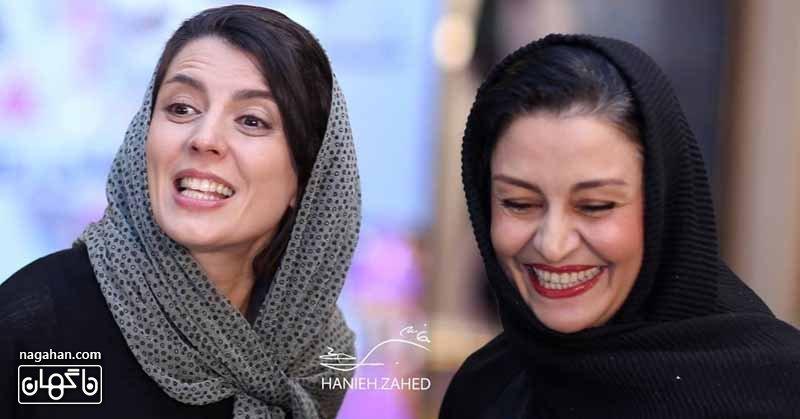 عکس مریلا زارعی و لیلا حاتمی دراولین جشن روزنامه سینما