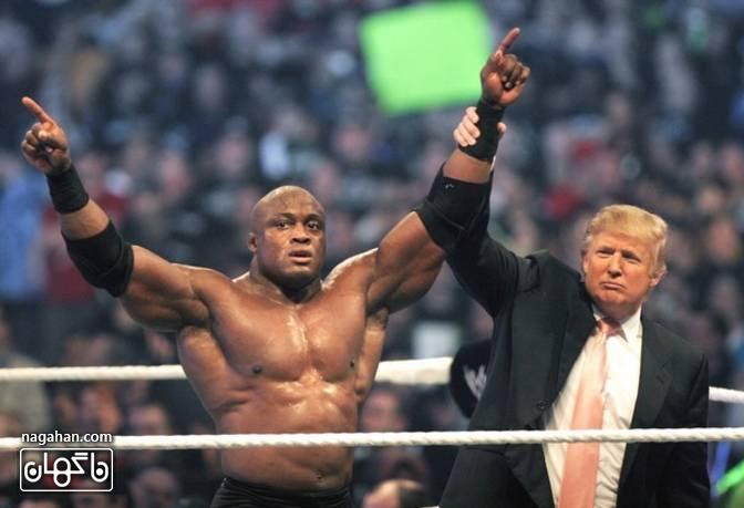 دونالد ترامپ در مسابقه WWE