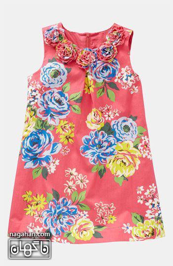 عکسالگو و مدل لباس کودک 95 | الگو پیراهن دخترانه برای علاقه مندان به خیاطی