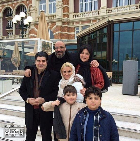 ریما رامین فر و خانواده سالار عقیلی