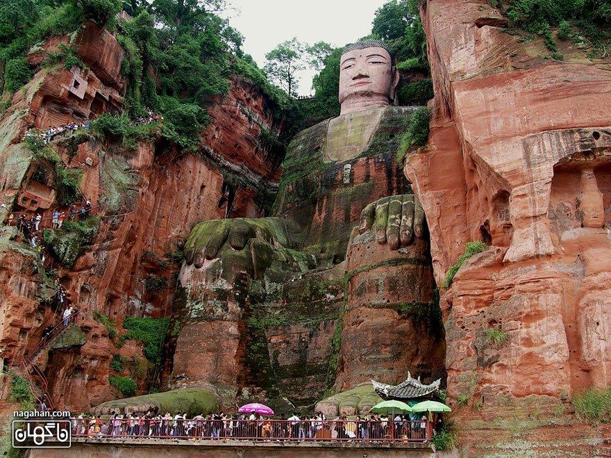 مجسمه عظیم بودا، لشان