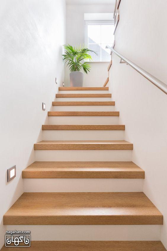 طراحی مدرن و ساده راه پله