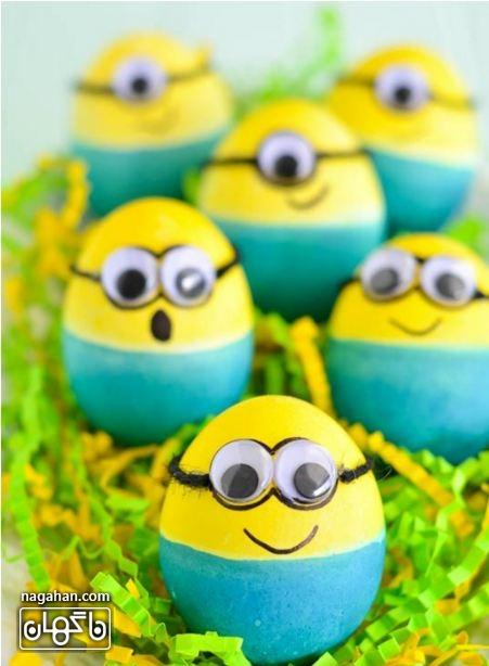 تخم مرغ های مینیونز سفره هفت