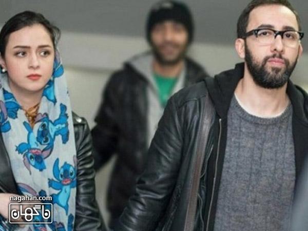علی منصور همسر ترانه علیدوستی