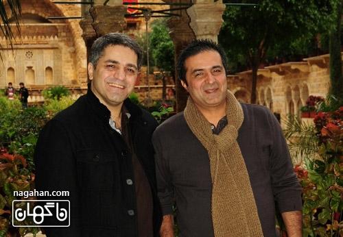 آقایان سید امیر پروینحسینی و منصور سهراب پور ،تهیه کنندگان فیلم من سالوادور نیستم