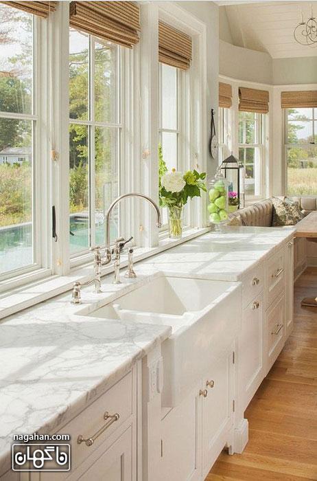 طراحی آشپزخانه به شیوه مدرن ، ساده و شیک | ایده ها ی جدید در چیدمان خانه و آشپزخانه 2016