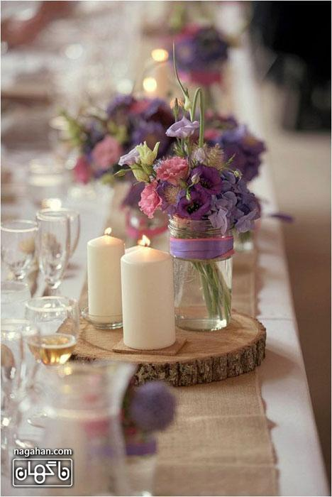ایده های جدید در سفره آرایی و تزئین میز شام و اتاق پذیرایی 5