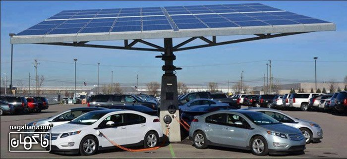 عکسپارکینگ شارژ خورشیدی