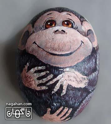 نوروز 95 تخم مرغ میمون