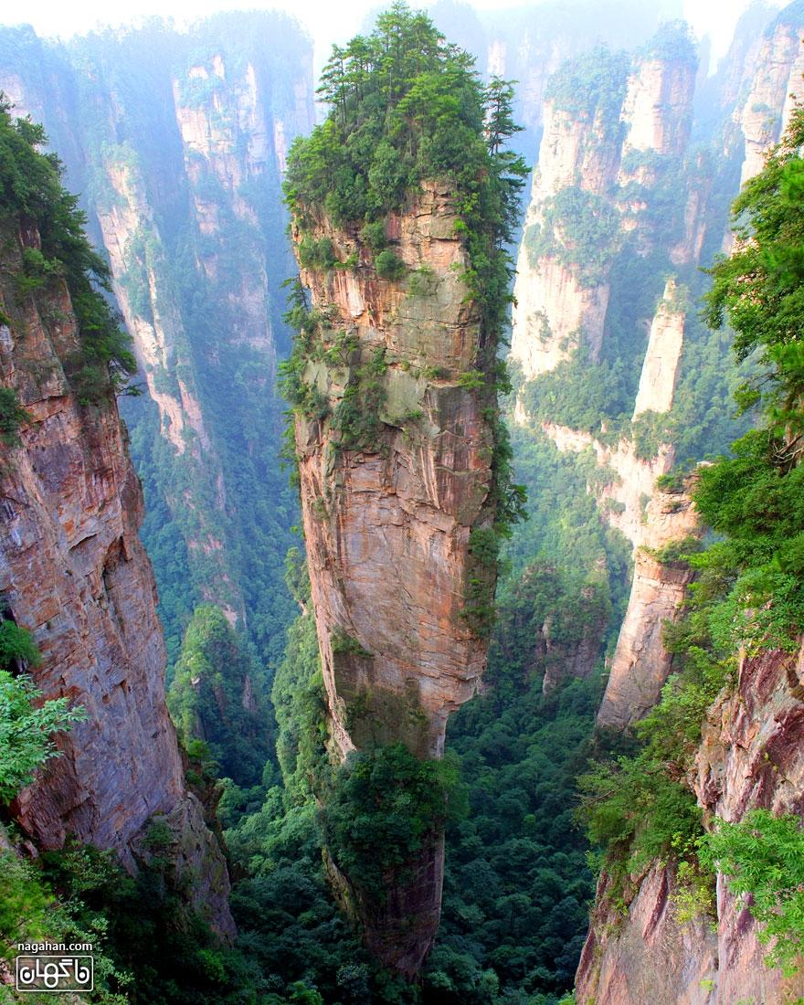 قله های تیان زی