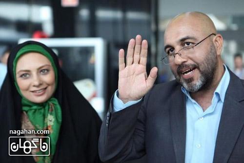 رضا عطاران و یکتا ناصر