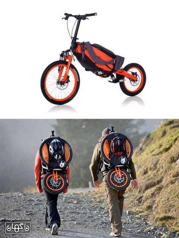 عکس دوچرخه های قابل حمل