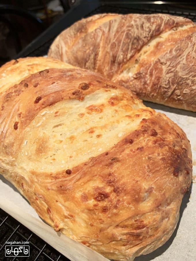 طرز تهیه نان ترد خانگی