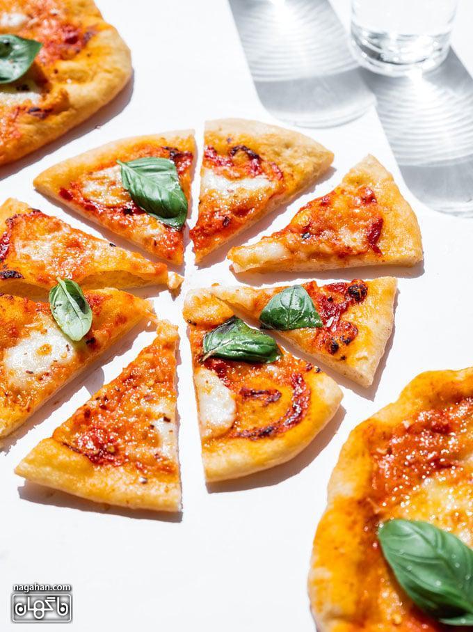 پیتزا سریع و آسان در ایر فرایر