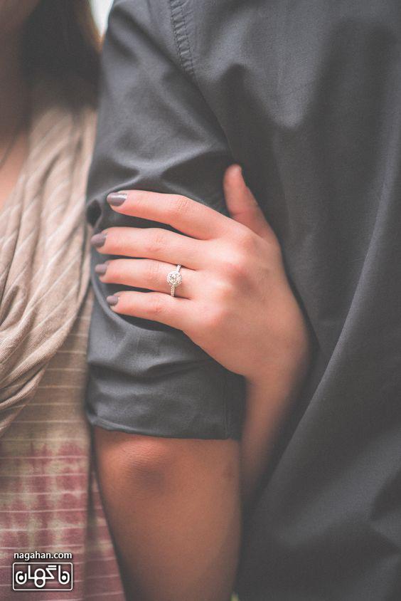 محبت به شریک زندگی خود هر کجا هستید نشان دهید
