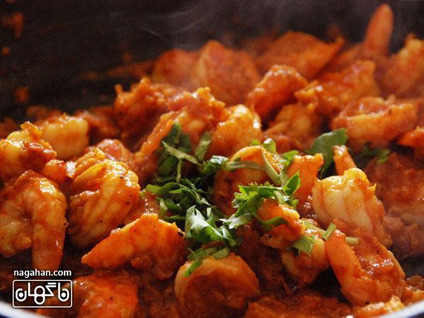 روش تهیه میگوی کاری هندی| غذای رژیمی کم کالری سرشار از ویتامین ...