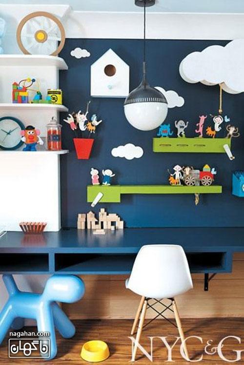 عکس اتاق کودک و مدل چیدمان - اتاق دخترانه و پسرانه