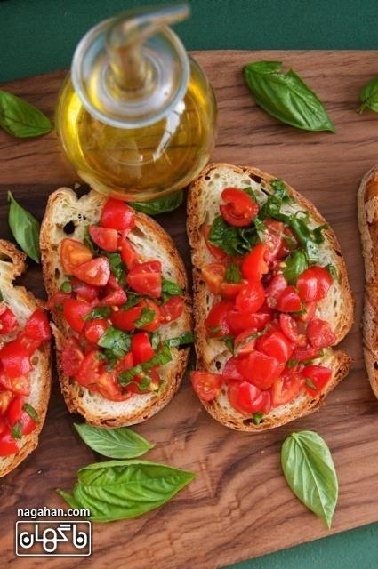 پیش غذایی ایتالیایی