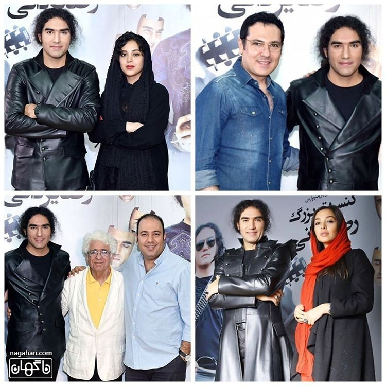 عکس حضور ستارگان در کنسرت بزرگ دوئل در آینه رضا یزدانی