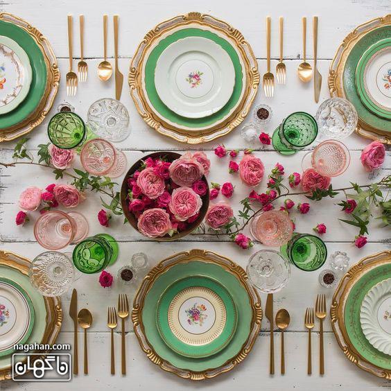 ایده های جدید در سفره آرایی و تزئین میز شام و اتاق پذیرایی 3