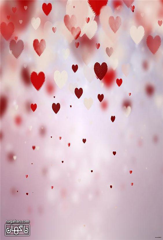 عکس های پروفایل و والپیپر عاشقانه ولنتاین- با قلب