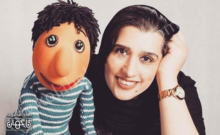 دنیا فنیزاده هنرمند تئاتر عروسکی و عروسک گردان کلاه قرمزی و خاله قورباغه از دنیا رفت
