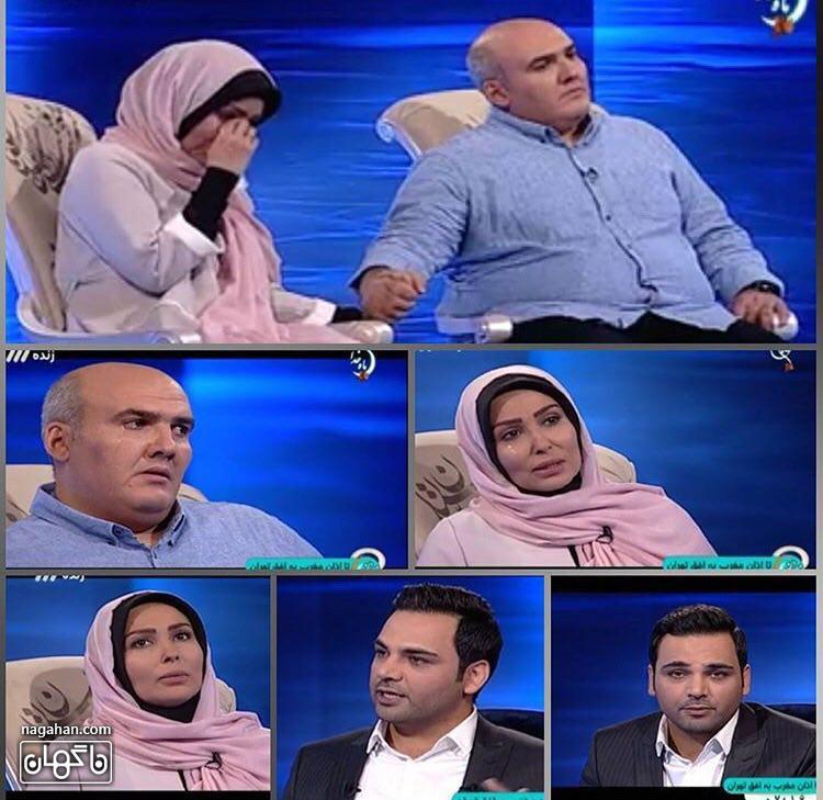 عکسپرستو صالحی در برنامه ماه عسل