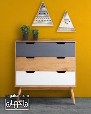 مدل میز کنسول رنگی جدید، اسپرت و مدرن