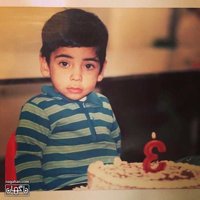 عکس سه سالگی پیشاحسان علیخانی