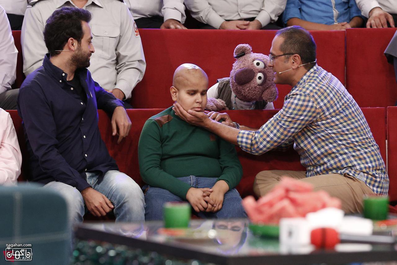 جناب خان و امیر رضا کودک سرطانی نا بینا