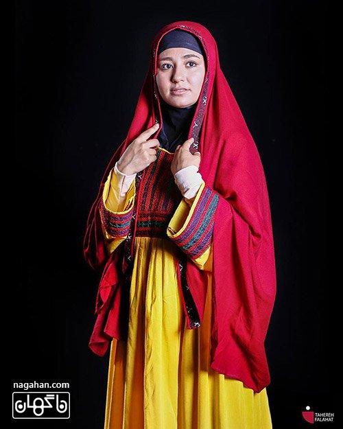 حسیبا ابراهیمی بازیگر افغان