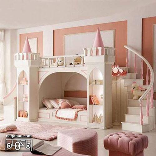 عکس اتاق کودک و مدل چیدمان طرح عروسکی- اتاق دخترانه