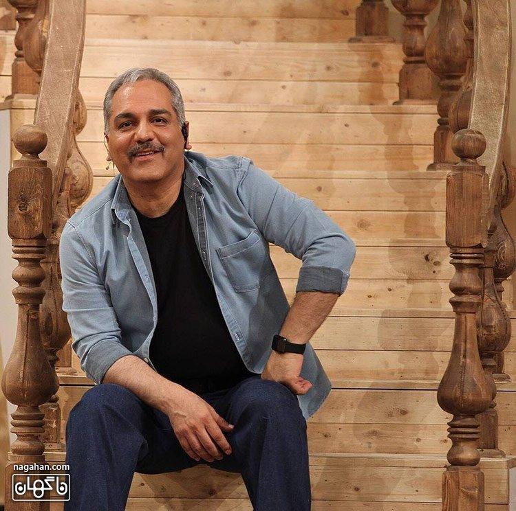 مهران مدیری با سبیل