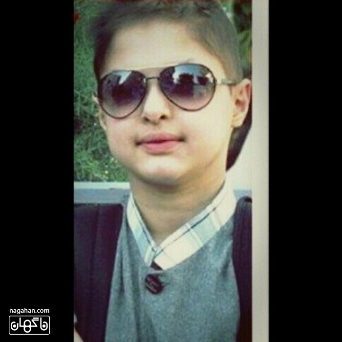 عکس پسر بزرگ شهاب حسینی