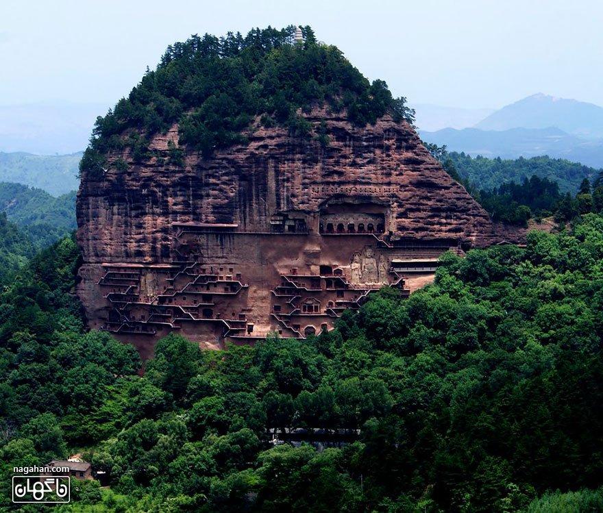 غارهای مای جی شان