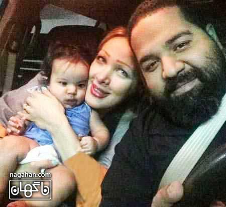 عکس خصوصی رضا صادقی - عکس خانوادگی رضا صادقی - عکس دختر رضا صادقی- عکس همسر رضا صادقی