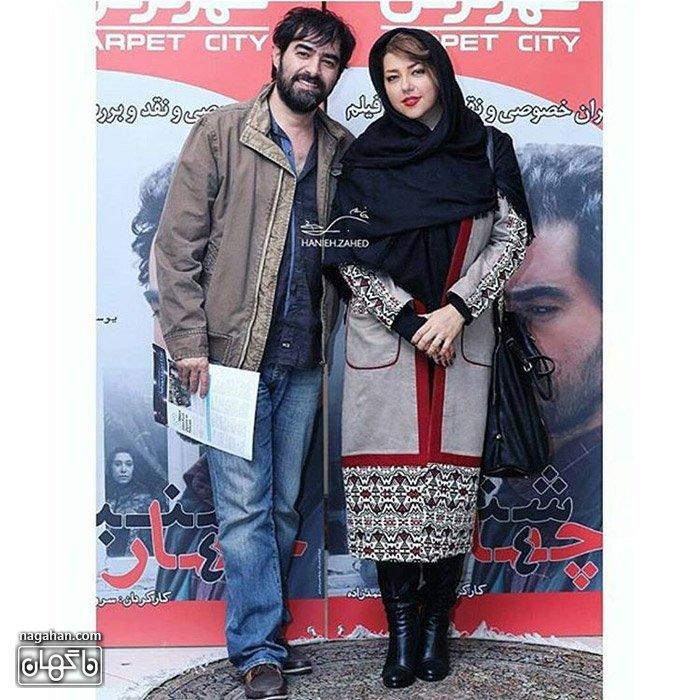 عکس شهاب حسینی و همسر