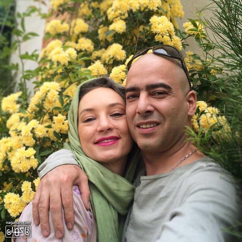 عکس عاشقانه نیما فلاح و سحر ولدبیگی